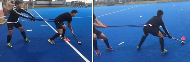 T drill stick ball