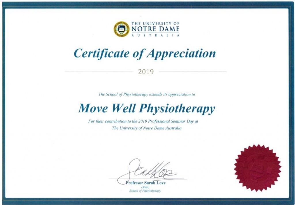 COA Physio 2 2019