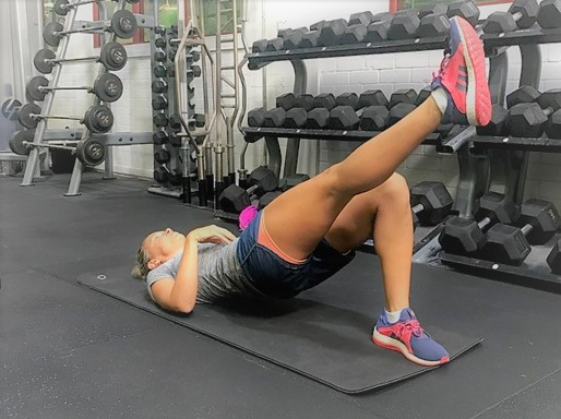 Glute Bridge- Single Leg